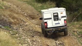 Four-Wheel-Campers Fox - die Offroad Wohnkabine auf dem Hilux