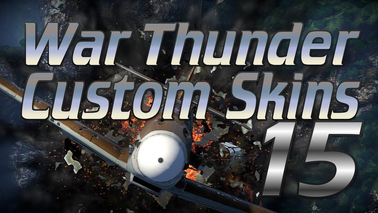 how to add skins in war thunder