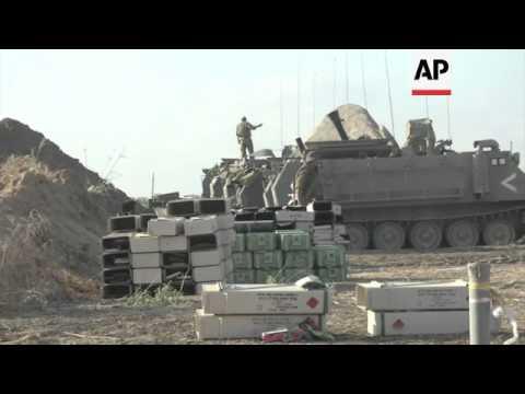 Iron Dome Intercepts Rockets Over Tel Aviv; Israeli Army Shows Tunnels