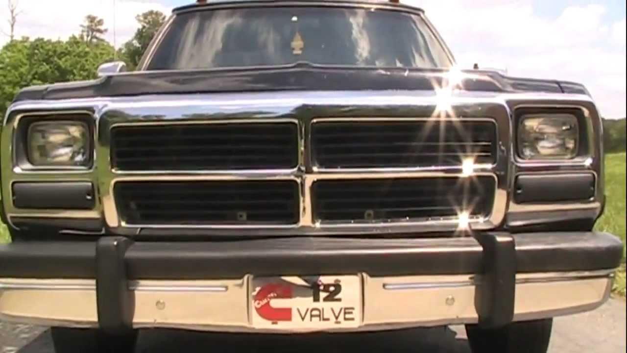 93 Dodge Cummins >> 1st Gen 12 valve Cummins - YouTube