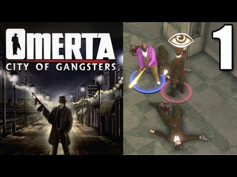 Omerta - City of Gangsters, Let's Play Part 1 - Fresh Off the Boat