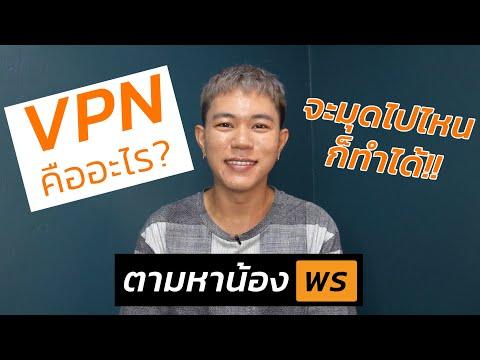 VPN คืออะไร? แล้วมันทำงานยังไงหว่า?