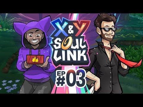 DO MY EYES DECEIVE ME?!   Pokémon X & Y Soul Link Randomized Nuzlocke w/ TheKingNappy Ep 03