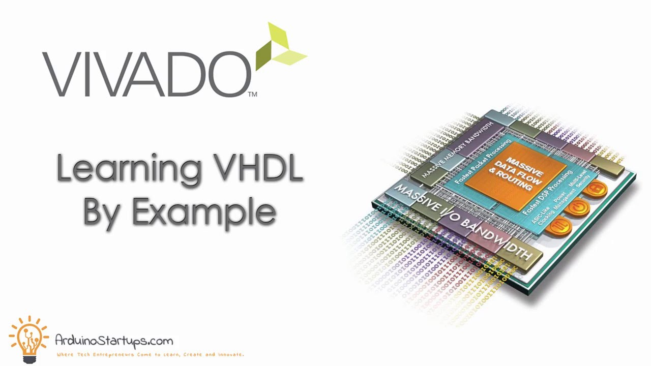 Learn VHDL by Example [Vivado Course]