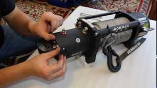 Разборка лебедки IronmanMonster Winch 9500