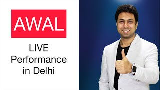 AWAL LIVE Performance at YouTube FanFest 2019 in Delhi
