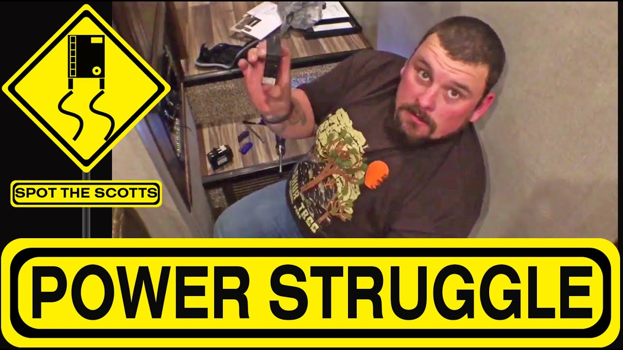 Spotthescotts Power Outlets Not Working In Our Fifth Wheel Rv Kz Spree Wiring Diagram Life 166