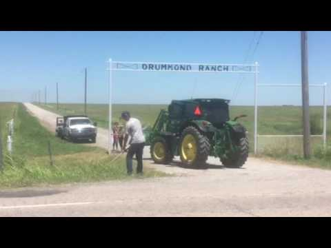 Drummond Ranch gate clean up