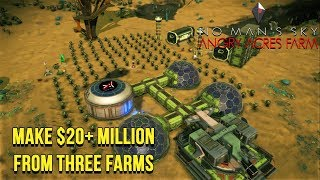 """No Man's Sky - """"Angry Acres Farm"""" - Make $22 Million Units A Day From Farming"""