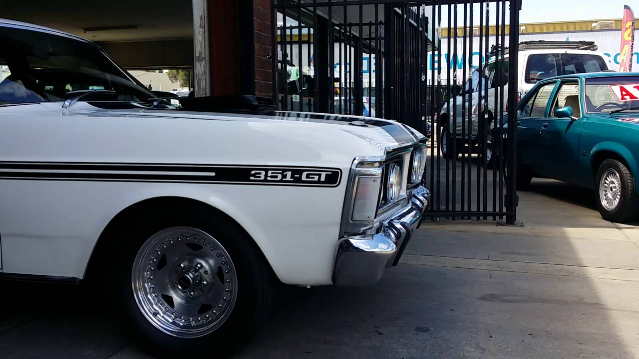 More Wanted Ford Falcon V8 351 Xy Gt Muscle Cars Youtube 1970
