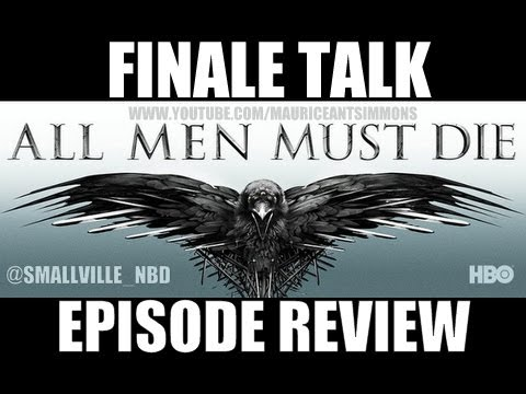 """Game of Thrones Season 4 """"Season Finale Preview: Talk, Thoughts & Analysis"""" *Podcast (4+Mins)"""