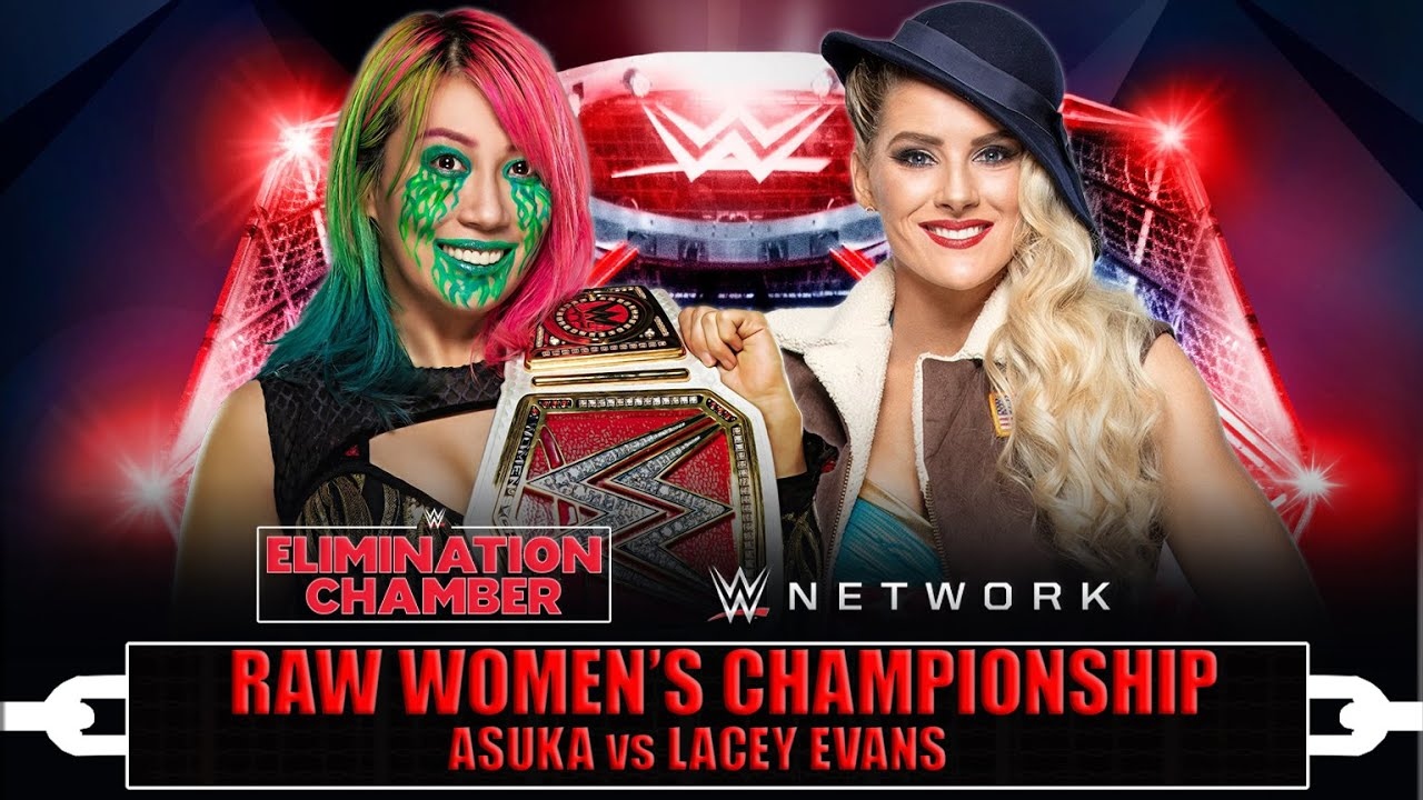 Image result for wwe elimination chamber 2021 asuka vs lacey