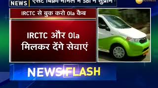 Now book an Ola from IRCTC website