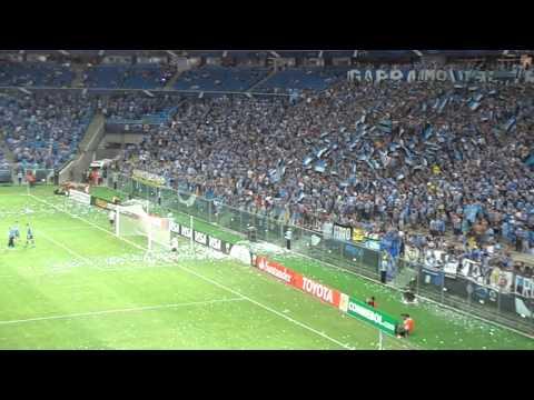 Arena Lotada - Grêmio vs Newell's Old Boys na Arena Grêmio - Copa Libertadores - 13/03/2014
