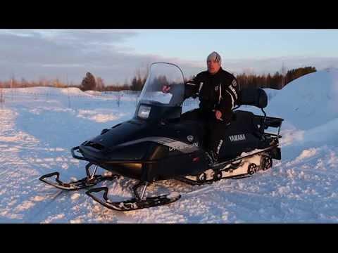 Снегоход Yamaha VK 540 (Viking). Квадроциклы и снегоходы. Выпуск 18