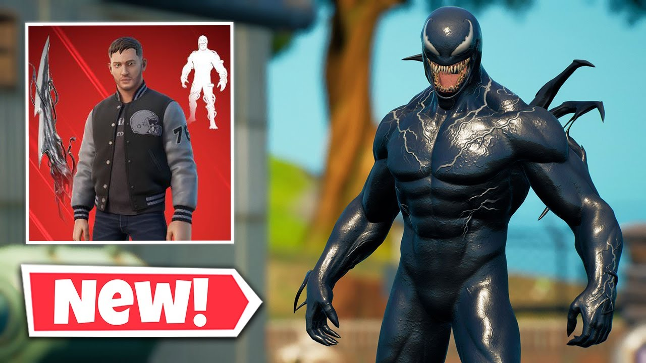 Download NEW EDDIE BROCK Skin Gameplay in Fortnite || VENOM UNLEASHED Emote