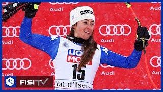 Sofia Goggia si ripete: 3° posto a Val d'Isère
