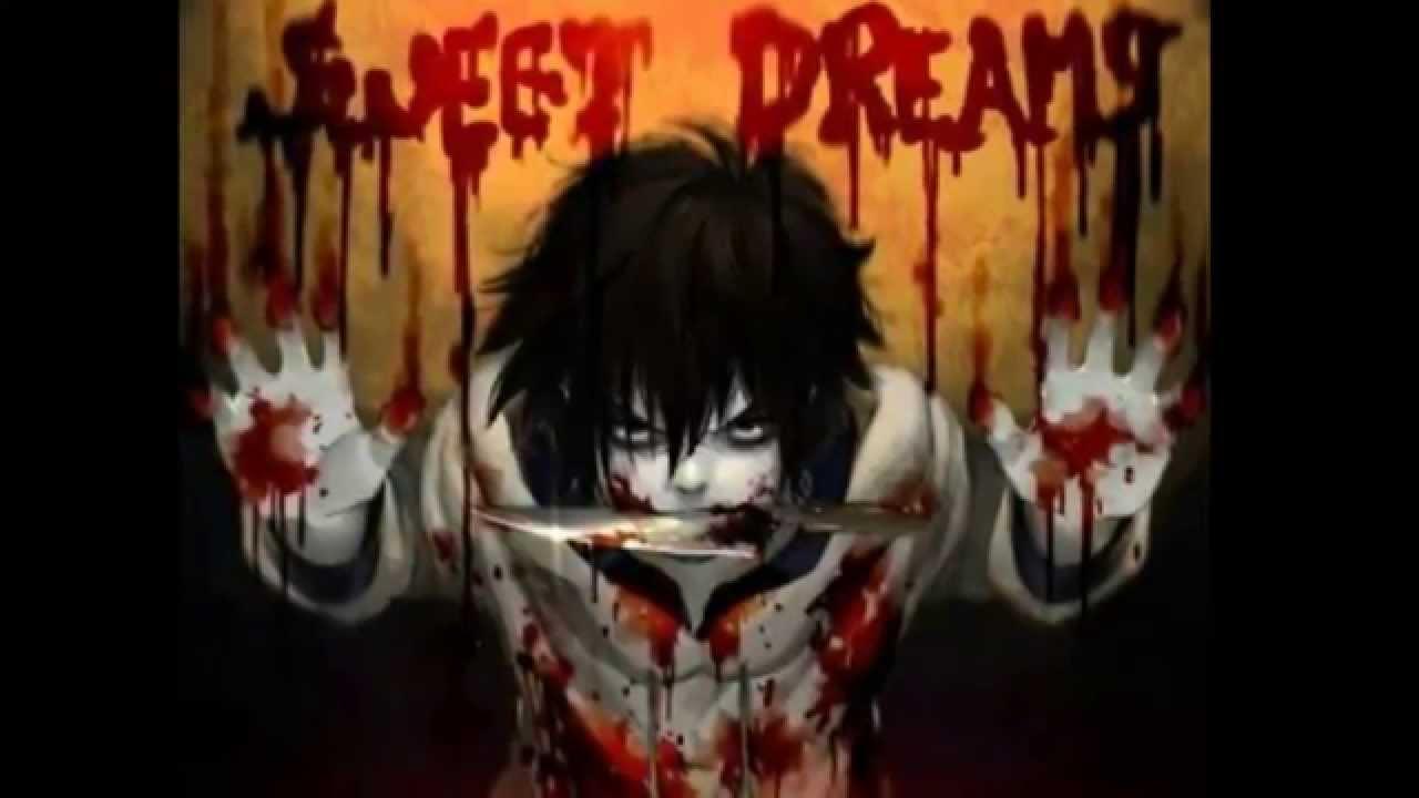 Sweet Anime Wallpaper Jeff The Killer Sweet Dreams Marilyn Manson Youtube