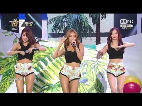 140724 M Countdown Sistar - Touch My Body