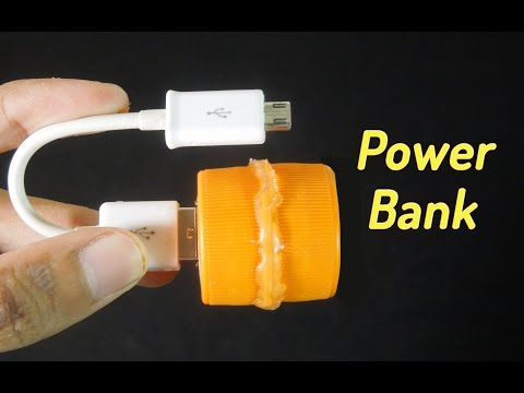 How to make a simple power bank without circuit - Homemade