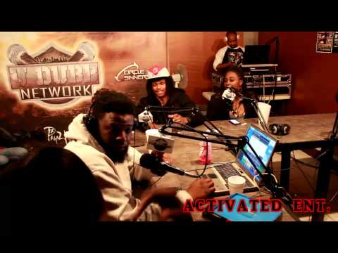 SOULJA Q AND SUICIDE RU AT NONFICTION RADIO STATION.