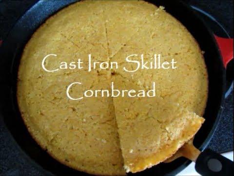 The Best Cast Iron Skillet Cornbread Recipe - YouTube