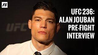UFC 236: Alan Jouban pre-fight interview