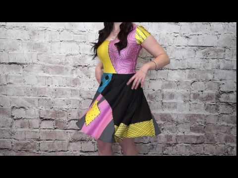 LDC Size Guide - Size Medium: Cupid Heart Dress