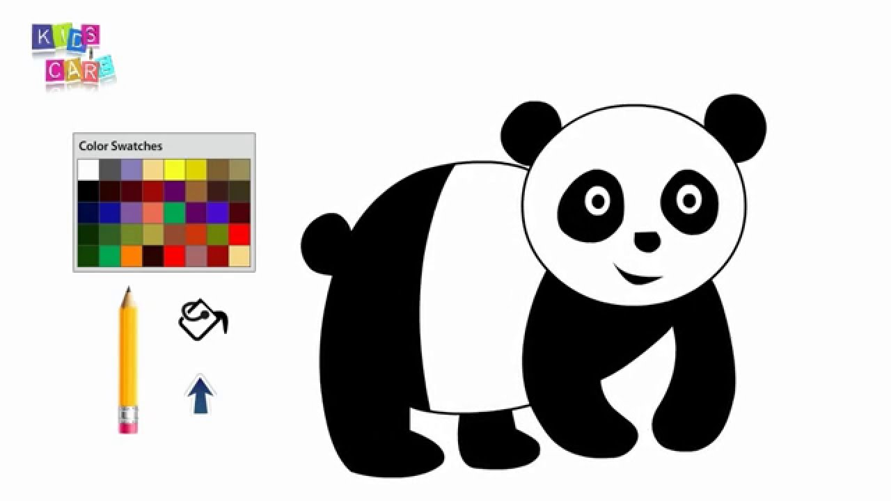 How To Draw A Panda Bear For Kids | www.imgkid.com - The ...