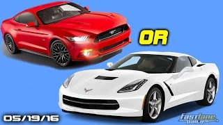 Mustang Vs Corvette, Autopilot Alfa Romeo, Mercedes Airscarf, Ford Gt Engine - Fast Lane Daily
