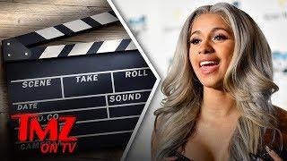 Cardi B - Stripper Turned Rapper Turned Actor! | TMZ TV