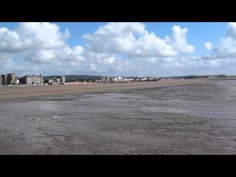 Hurricane Bertha in Weston-super-Mare, UK - The Grand Pier