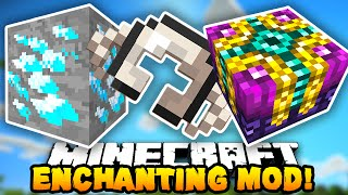 Minecraft MOD SHOWCASE! (Enchanting Plus, Quartz Armor & Dense Ores!) | Mods