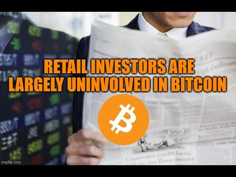 Retail Investors Are Largely Uninvolved In Bitcoin