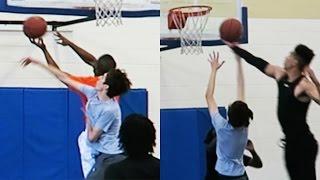 youtubers play basketball