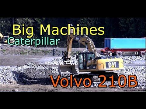 Scania Truck Vs Caterpillar 972G Wheel Loader-The world's best carriers-Caterpillar 324D Excavator
