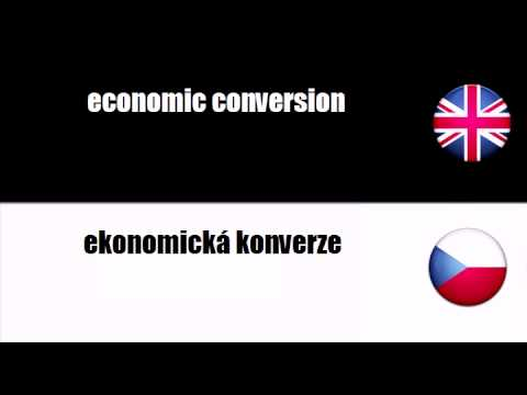 ENGLISH CZECH   energy conversion