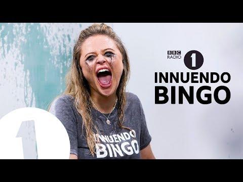"""""""The ball flicked De Kock's helmet!"""": Emily Atack GETS WET on Innuendo Bingo"""