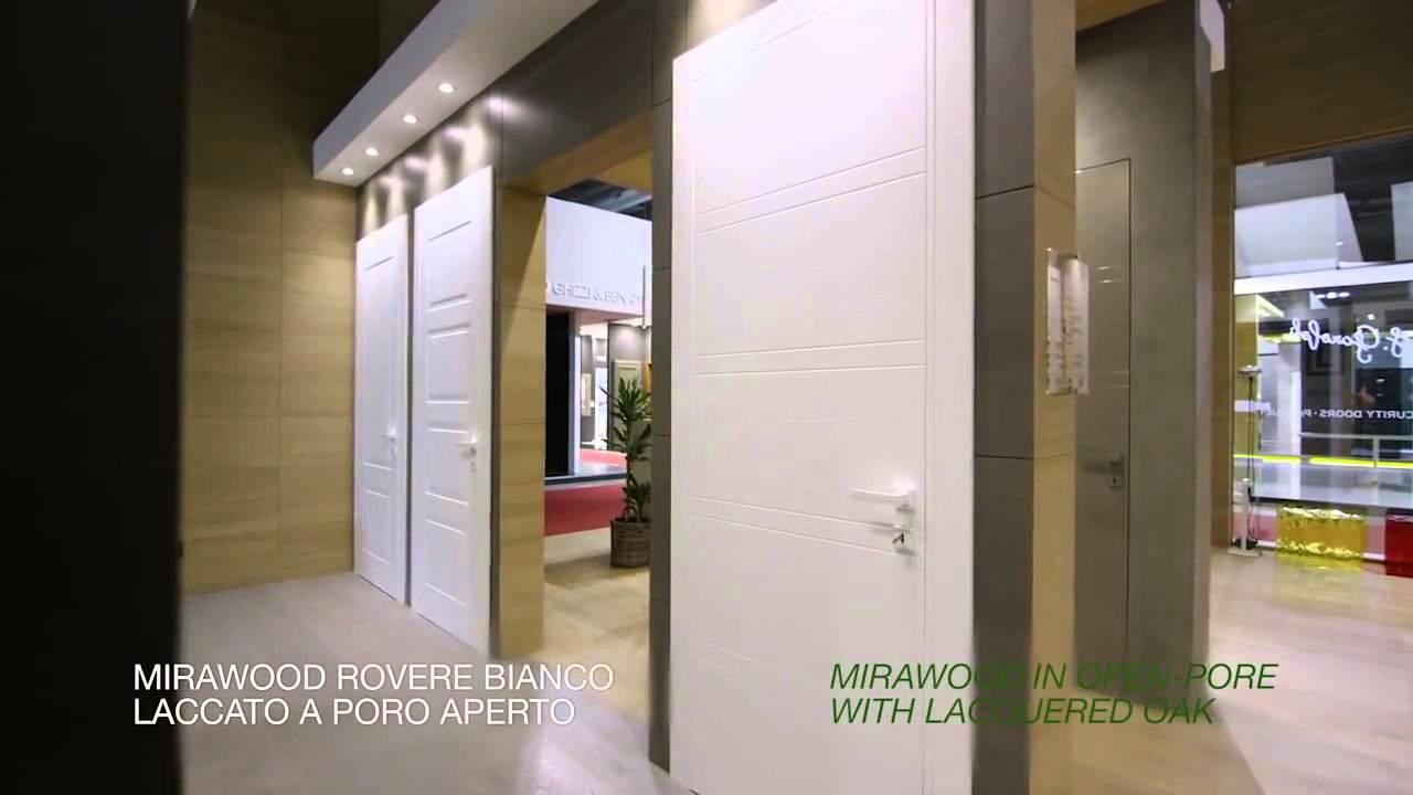 Mirawood, nuova collezione di porte interne Garofoli