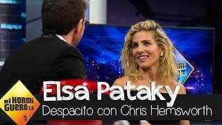 Así bailan Elsa Pataky y Chris Hemsworth 'Despacito' - El Hormiguero 3.0