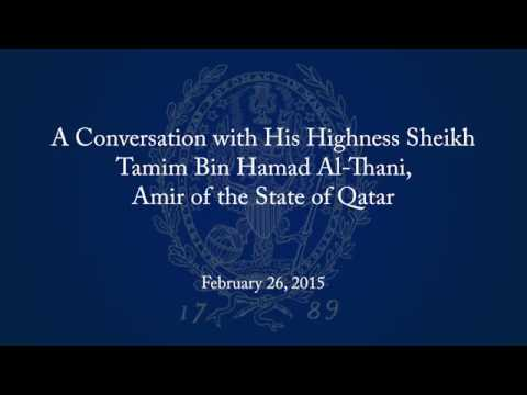 A Conversation with His Highness Sheikh Tamim Bin Hamad Al-Thani