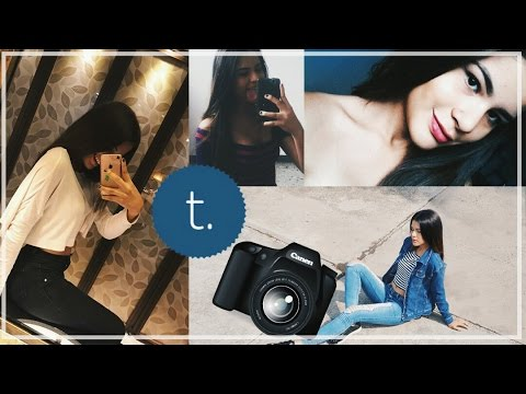 CMO SACAR FOTOS TUMBLR  HOW TO TAKE EASY PHOTOS TUMBLR   YouTube