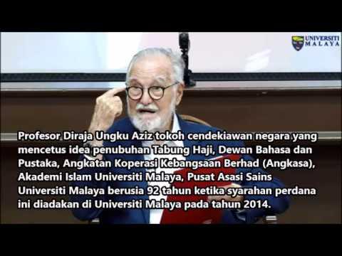 Orang Melayu Apathy Berfikir Aras Tinggi Prof Diraja Ungku Aziz Youtube