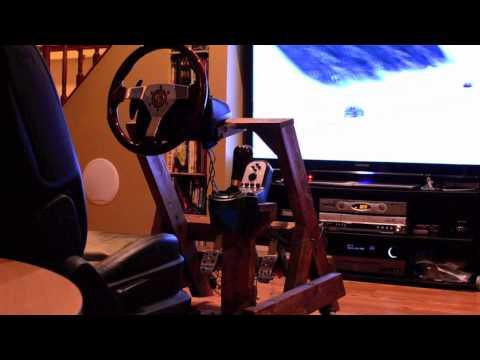 DIY Woody Gaming Cockpit