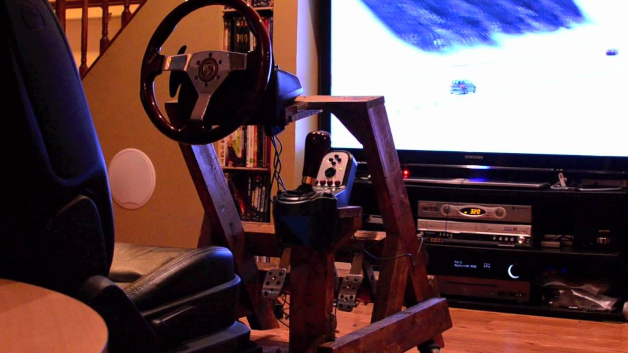 Diy Woody Gaming Cockpit Youtube