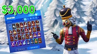 My $3000 Fortnite Account