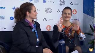 Ivett Tóth, SP - 2018 Finlandia Trophy