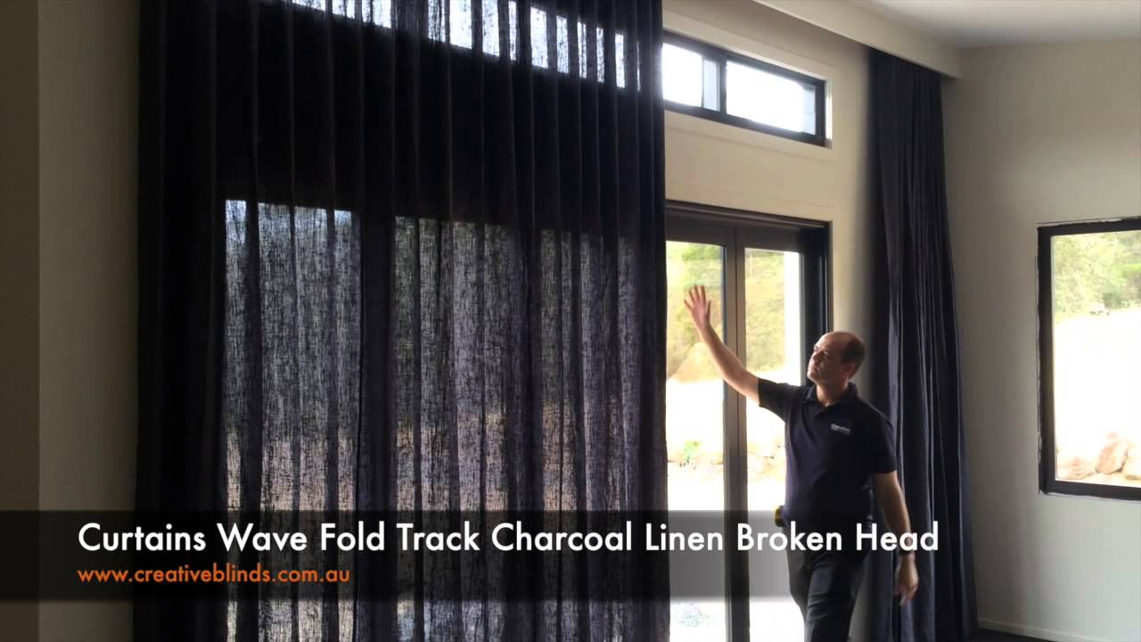 Creative Blinds And Awnings Curtains Wave Fold Track