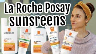 My top 5 La Roche Posay sunscreens| Dr Dray