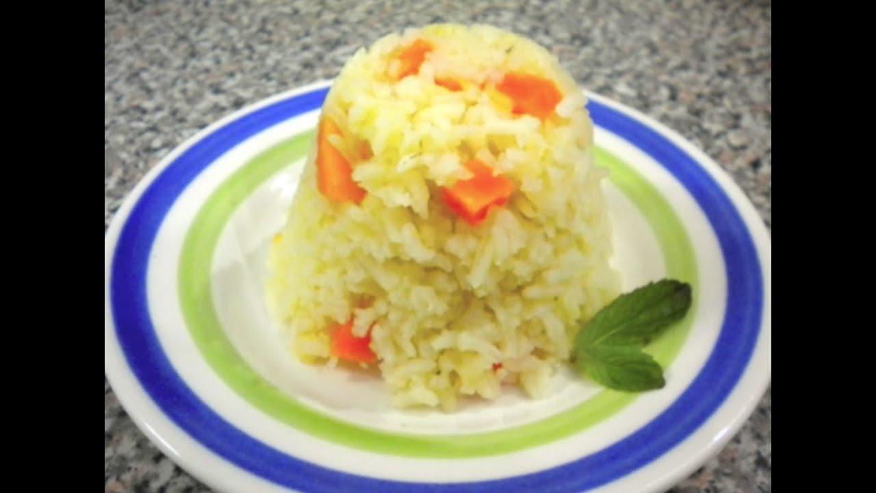 la mejor manera de cocinar arroz blanco